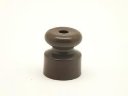 Изолятор пластиковый, коричневый