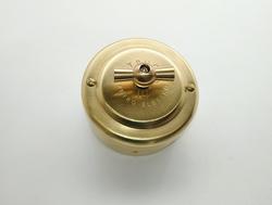 PETRUCCI переключатель поворотный, латунь, цвет GOLD